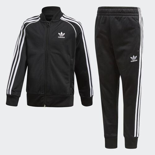 adidas - Trefoil SST Track Suit Black CD8443