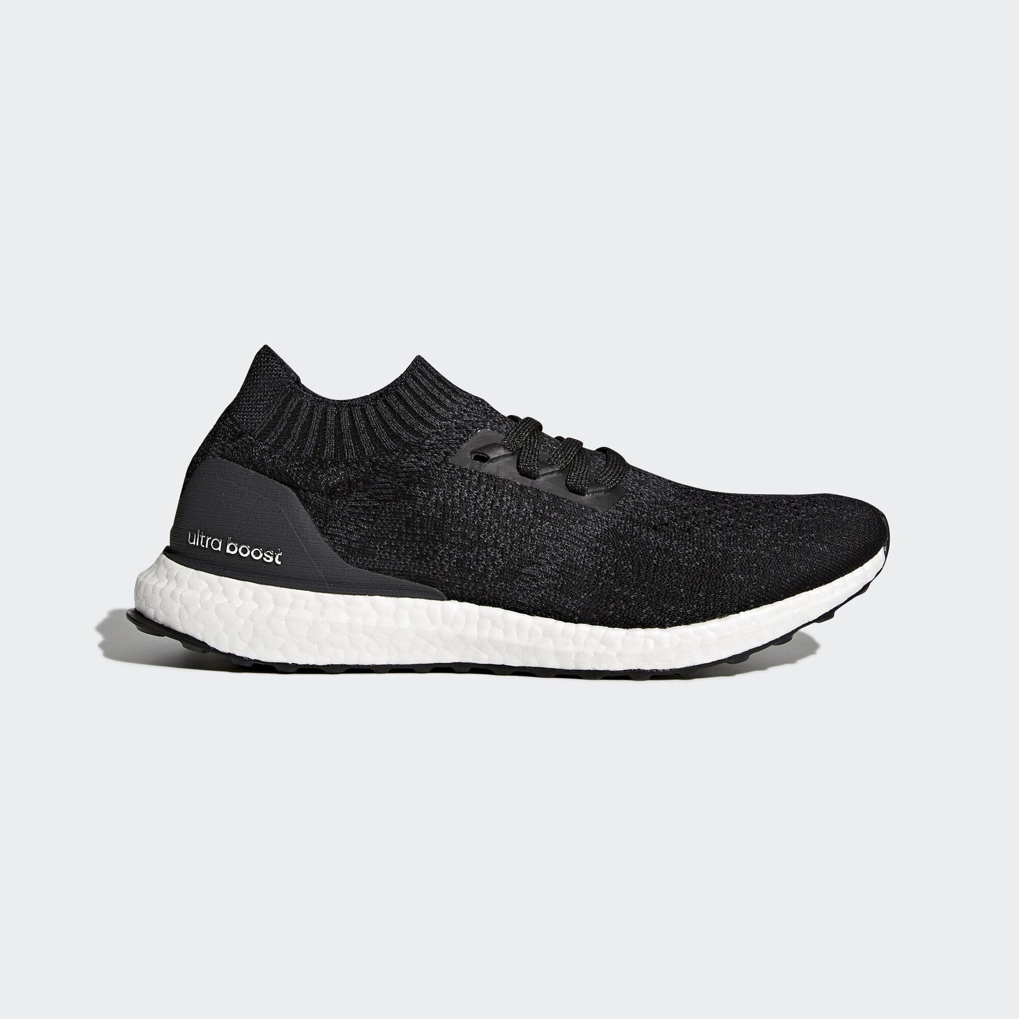 2e610e8b07ae adidas - Ultraboost Uncaged Shoes Carbon Core Black Grey Three DA9164. Men  Running