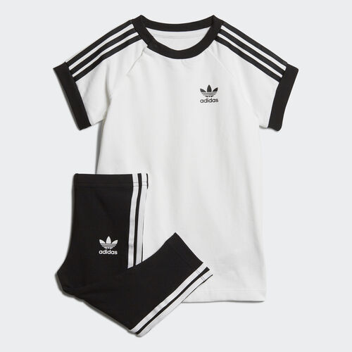 adidas - 3-Stripes Dress Set White / Black DV2807