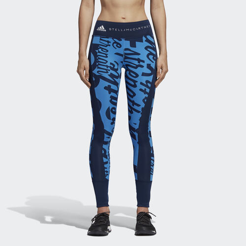adidas - Training Compression Tights Night Indigo / Ray Blue DN4407