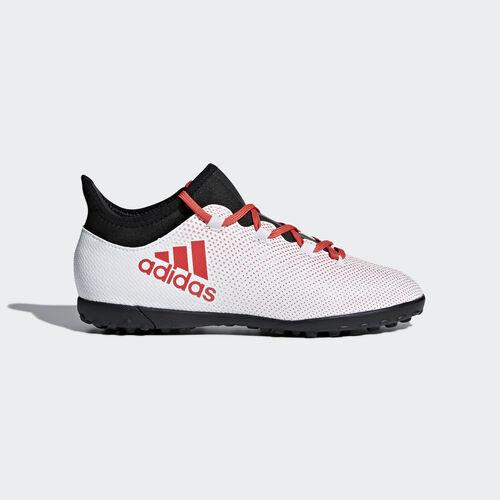 adidas - X Tango 17.3 Turf Boots Grey/Real Coral/Core Black CP9025