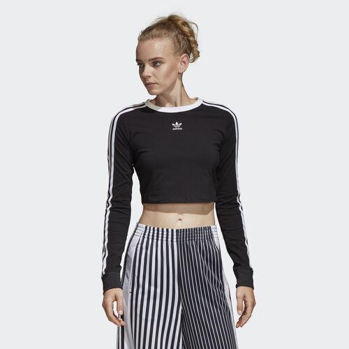adidas - Cropped Tee Black DU9722