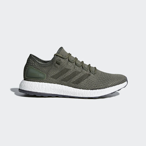 adidas - Pureboost Clima Shoes Base Green/Night Cargo/Trace Cargo BY8896