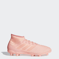adidas - Predator 18.2 Firm Ground Boots Clear Orange   Clear Orange    Trace Pink DB1998 ... 3e4b8353191