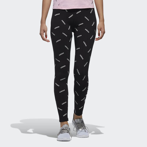 adidas - Graphic Tights Black / White DW8021