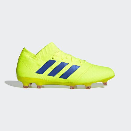 adidas - Nemeziz 18.1 Firm Ground Boots Solar Yellow / Football Blue / Active Red BB9426