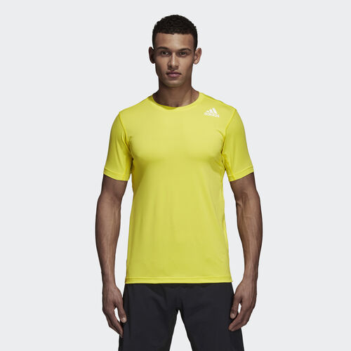 adidas - FreeLift Fitted Elite Tee Shock Yellow CX0220
