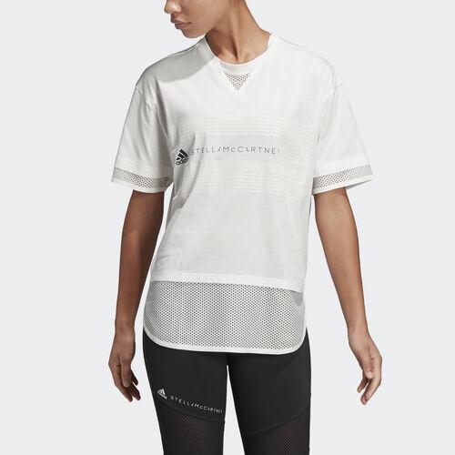 adidas - Logo Mesh Tee Core White DT9227