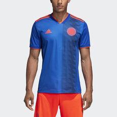 adidas - Camisola Alternativa da Colômbia Bold Blue Solar Red CW1562 ... b45bc078732a0