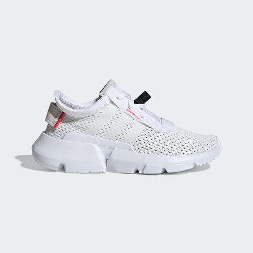 adidas - POD-S3.1 Shoes Ftwr White / Ftwr White / Shock Red CG7001