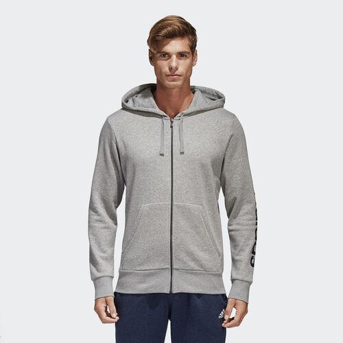 adidas - Camisola com Capuz Linear Essentials Medium Grey Heather S98794