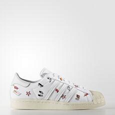 971def66df adidas - Sapatos Superstar 80s Footwear White Footwear White Off White  BZ0650