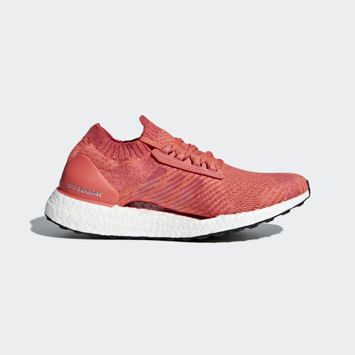adidas - Ultraboost X Shoes Trace Scarlet/Crystal White/Trace Orange BB6160