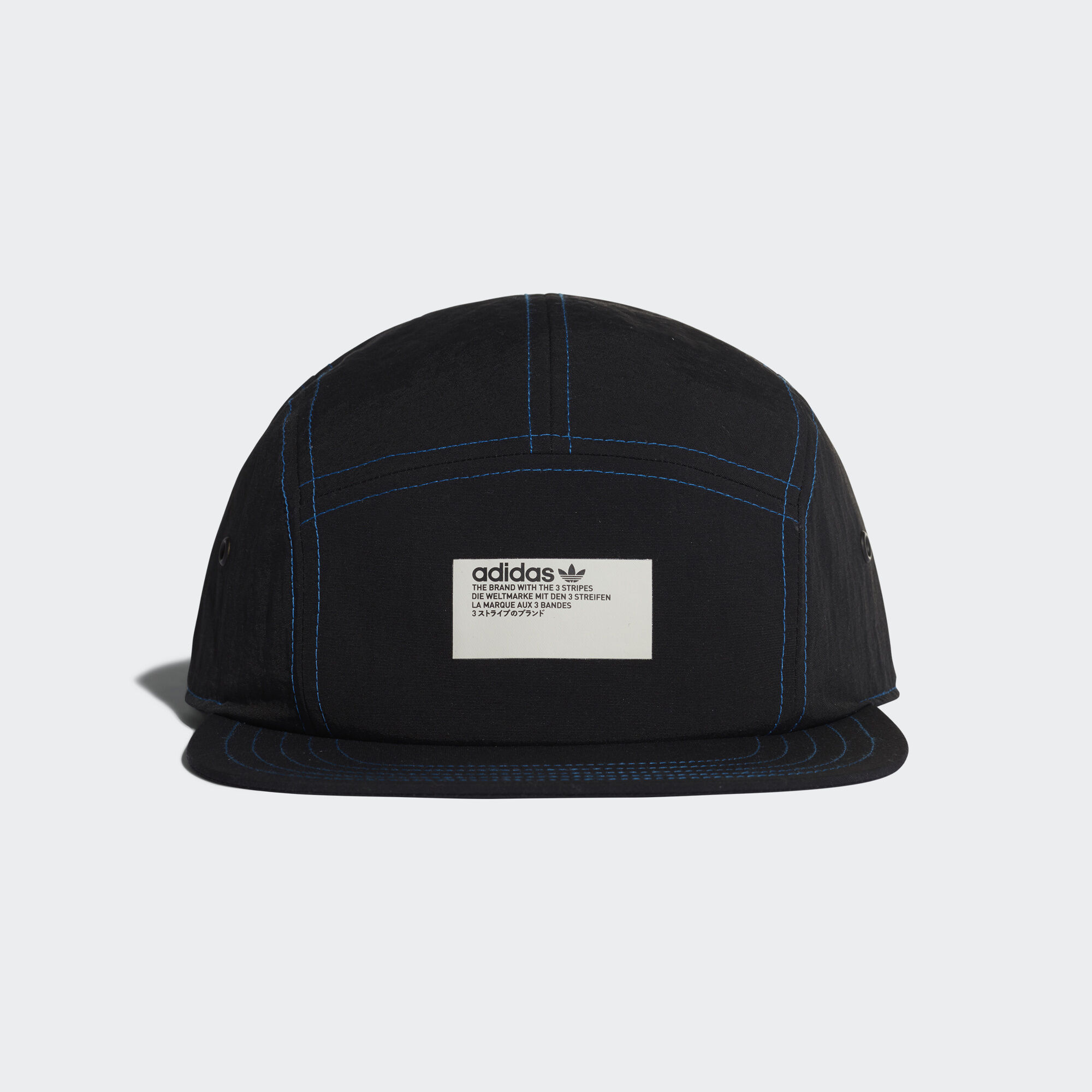 adidas - adidas NMD 5-Panel Cap Black   Lush Blue DH4418 6a61b5ae040