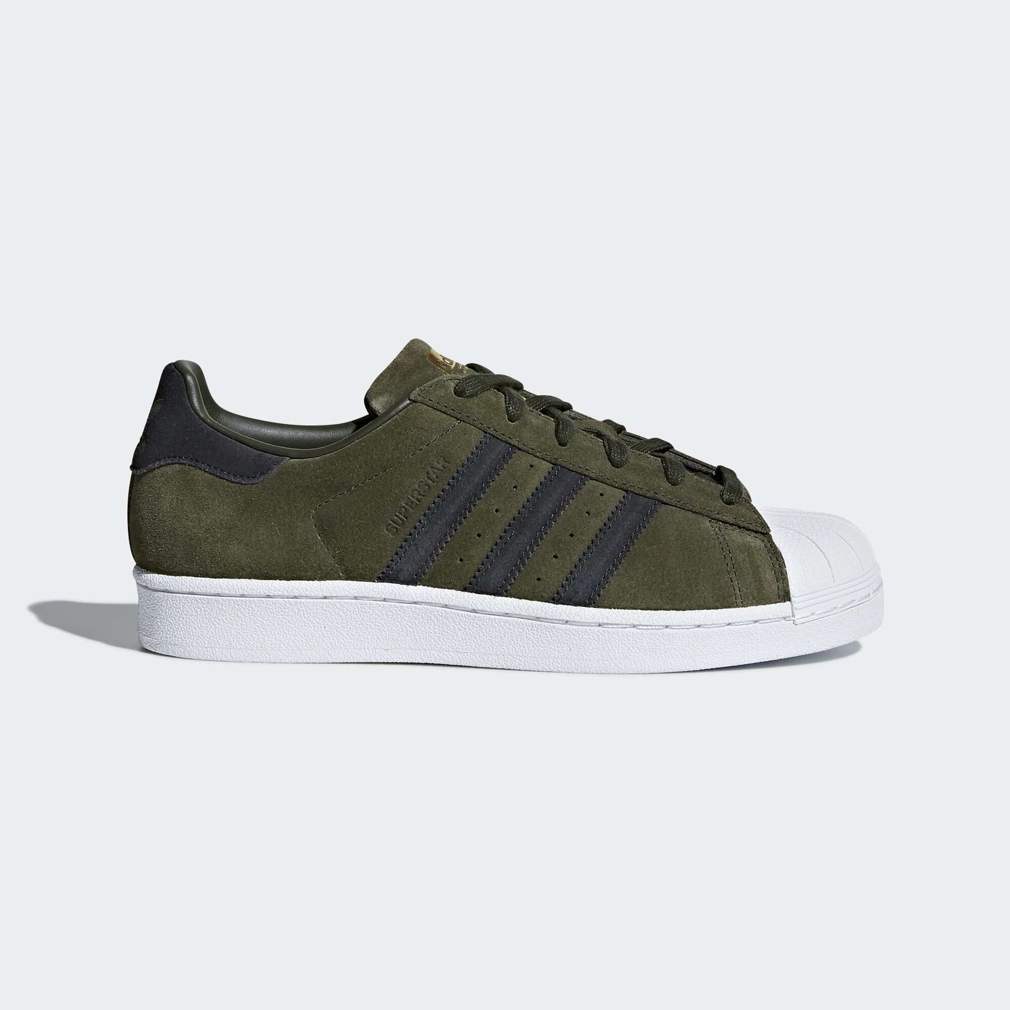 Adidas Superstar verde