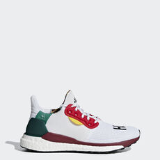 800e939b80 adidas - Sapatos Pharrell Williams x adidas Solar Hu Glide ST Collegiate  Burgundy   Ftwr White ...