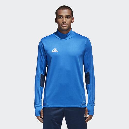 adidas - Tiro 17 Training Shirt Blue/Collegiate Navy/White BQ2735