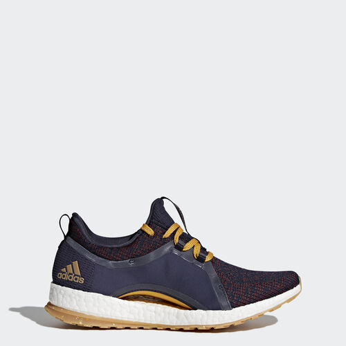 adidas - PureBOOST X All Terrain Shoes Legend Ink/Red Night/Tactile Yellow BY2690