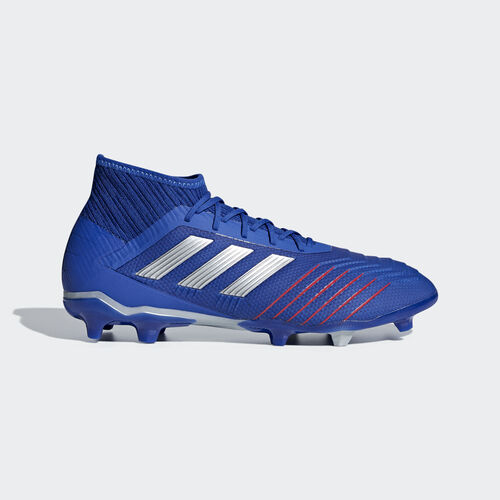 adidas - Predator 19.2 Firm Ground Boots Bold Blue / Silver Met. / Football Blue BB8111