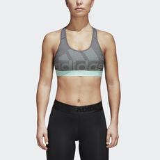 ddeb84c05f4a adidas - Sutiã Don t Rest Alphaskin Dark Grey Heather   Grey Four   Clear  ...