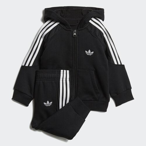 adidas - Radkin Hoodie Set Black / White DV2837
