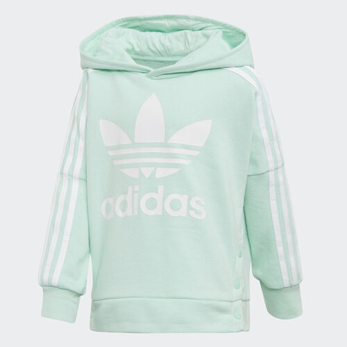 adidas - Snap Hoodie Clear Mint / White D98882