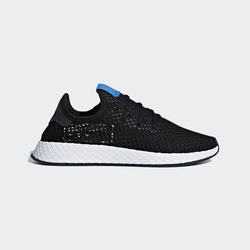 adidas - Deerupt Shoes Core Black / Core Black / Bluebird B42063
