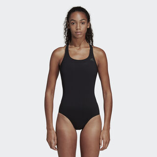 Solid Swimsuit Black DQ3312