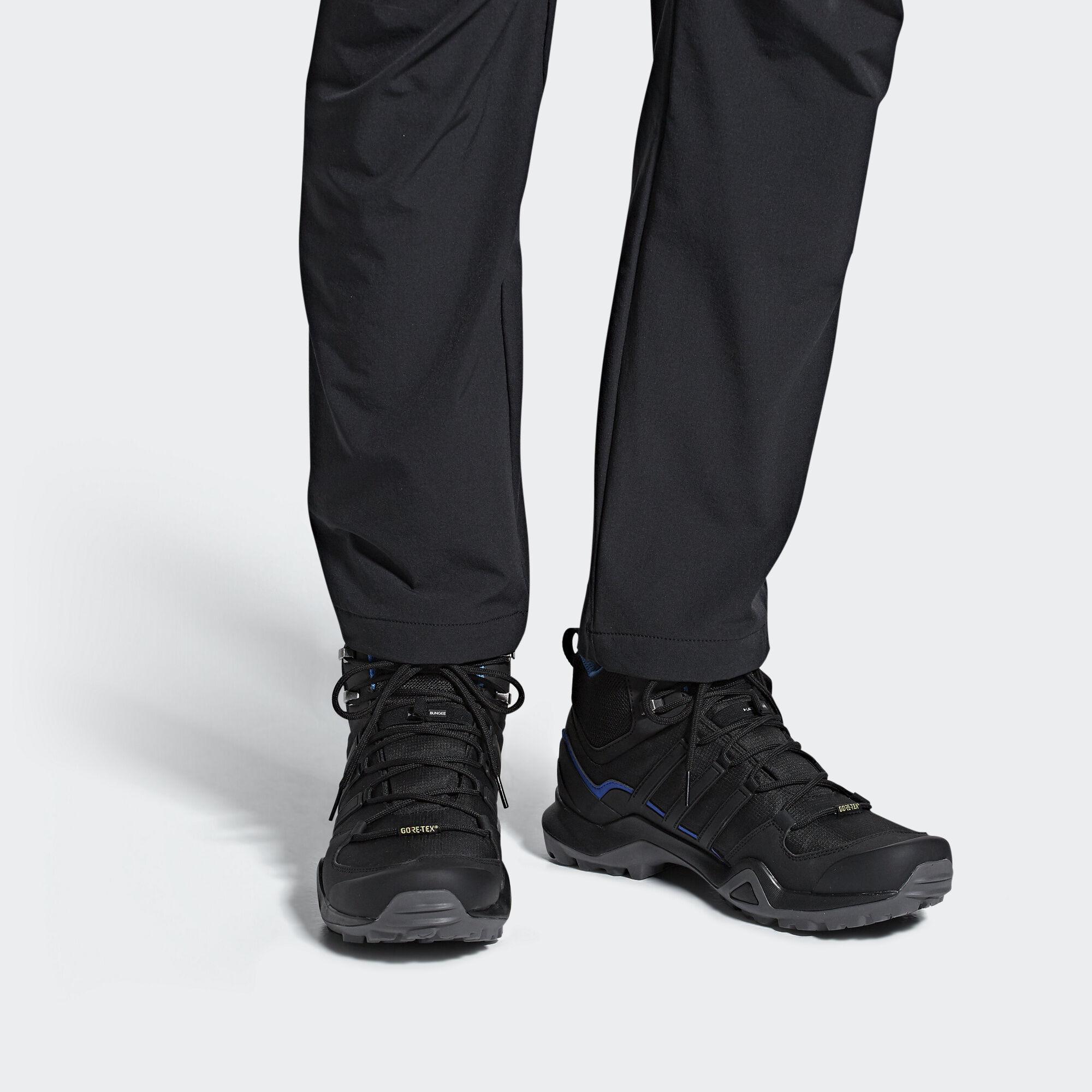 7be151b08d8 adidas Terrex Swift R2 Mid GTX Shoes - Black