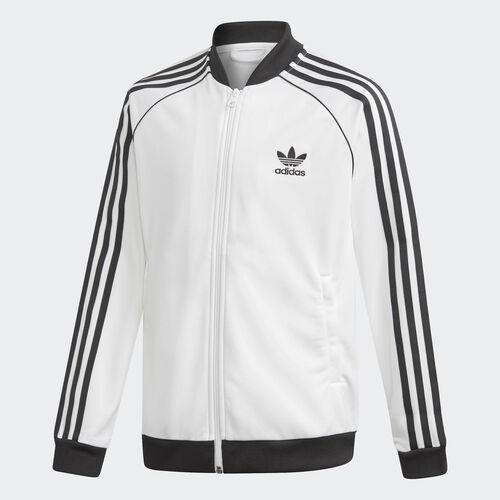 adidas - SST Track Jacket White / Black DV2897