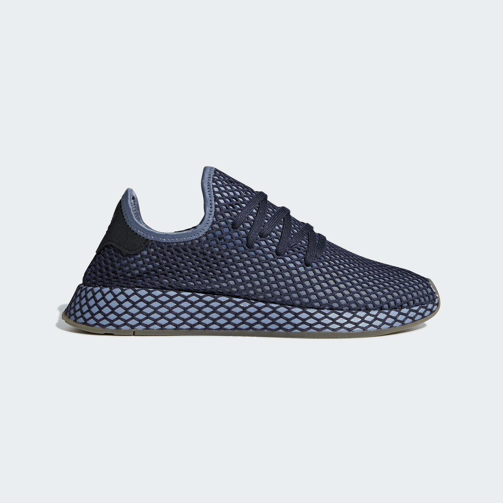 brand new 466a1 98be5 adidas deerupt runner chaussures bleu bleu bleu adidas asie moyen - orient  cc7976