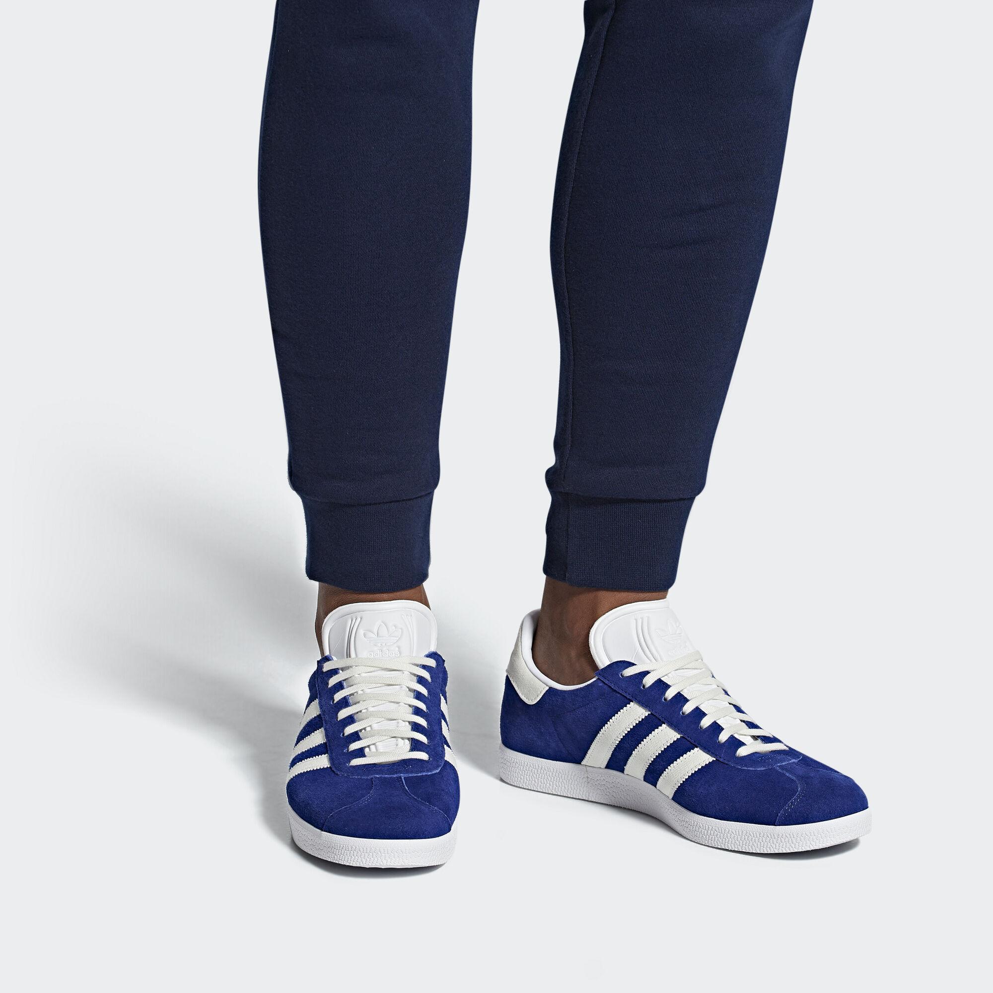 adidas Gazelle Shoes - Blue  71f1a2e91