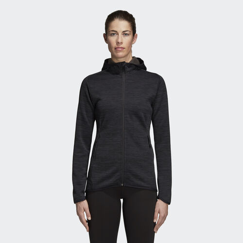adidas - FreeLift Climaheat Hoodie Carbon / Black DM4398
