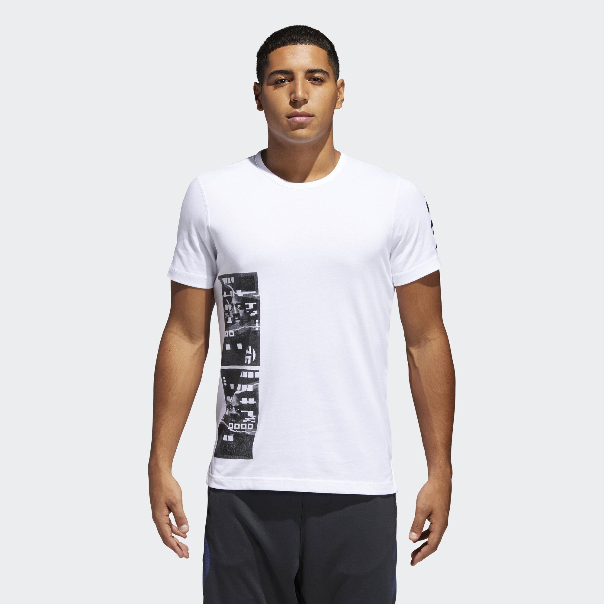 James Harden Date Of Birth: Adidas Harden Tee - White