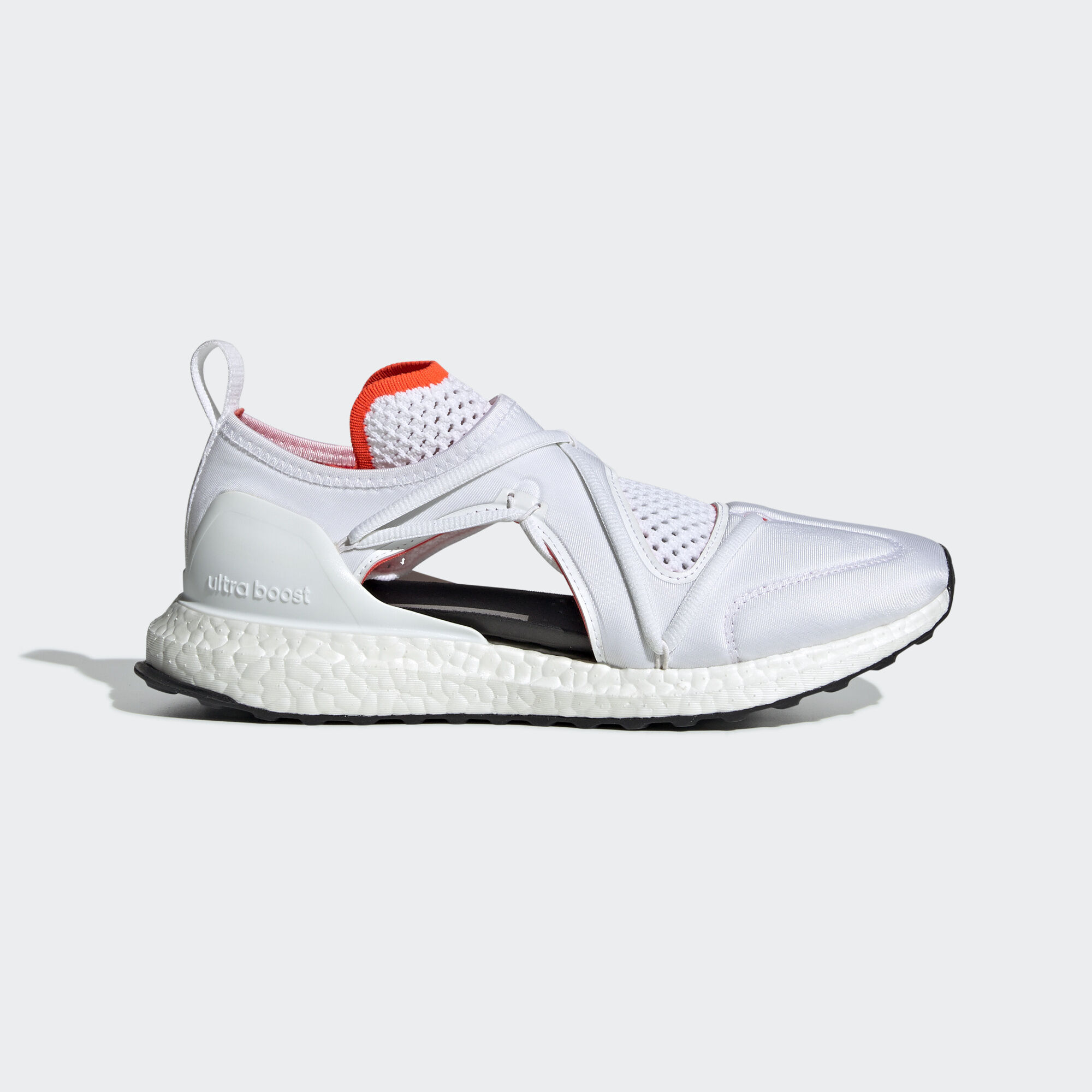 finest selection 53ae3 9efb1 adidas - Ultraboost T Shoes Core White   Core Black   Solar Red D97722