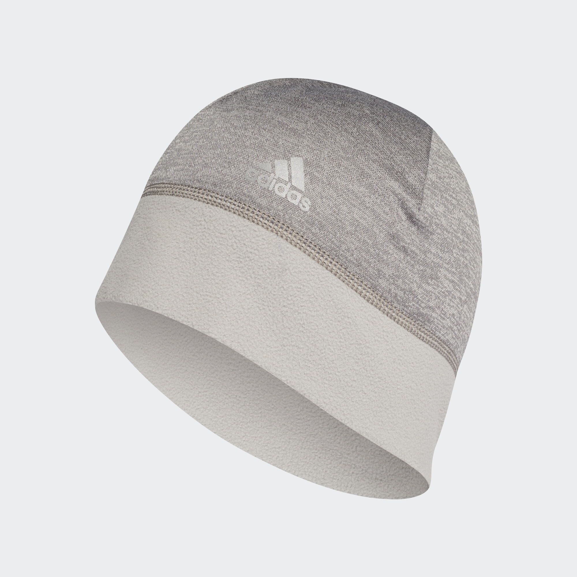 af40e62a8a9 ... clearance adidas climawarm beanie core heather core heather reflective  silver dm4414 c3f3e d39d2