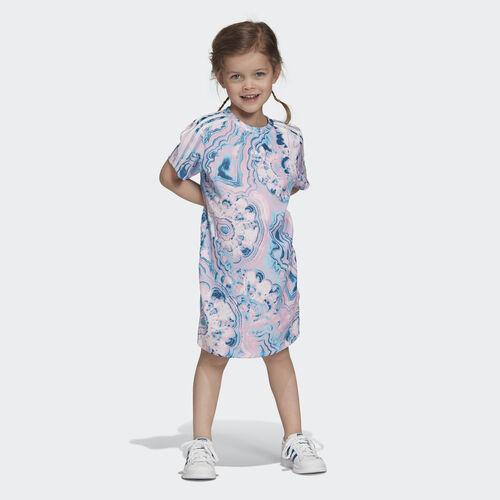 adidas - Marble Tee Dress Multicolor / White DV2345
