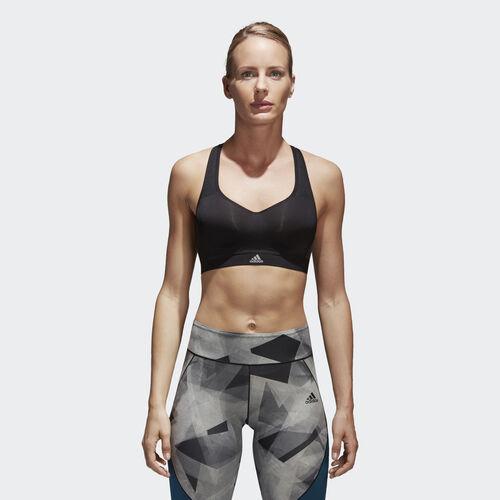 adidas - Stronger For It Cross-Back Bra Black BK2173