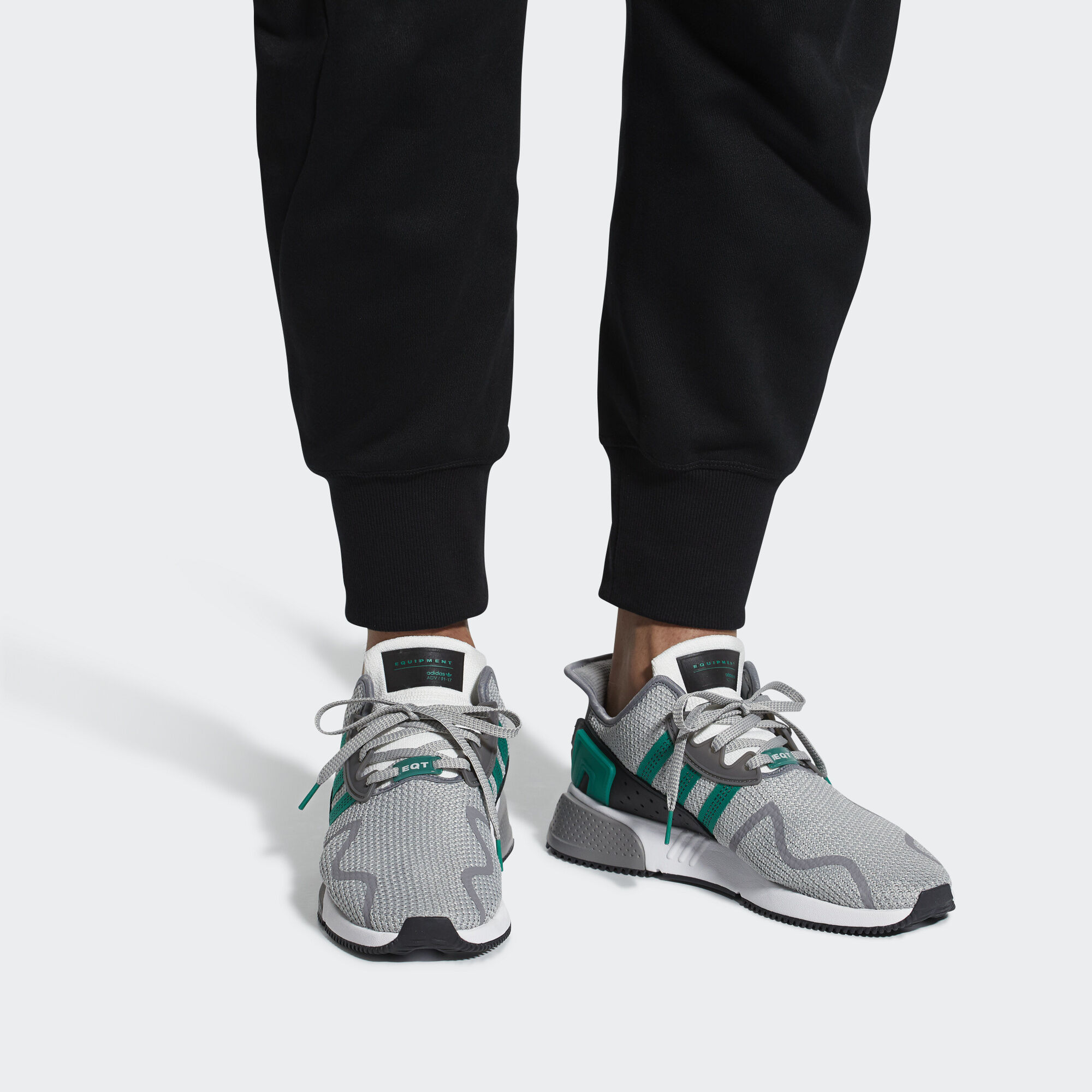 huge discount ad438 a3bc2 adidas EQT Cushion ADV Shoes - Green  adidas UK