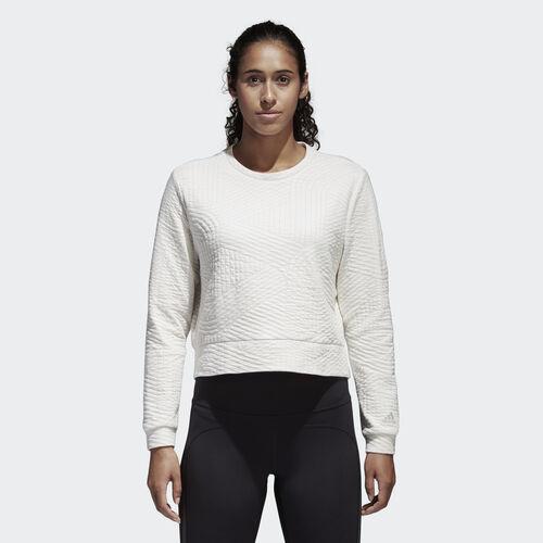 adidas - Climalite Performance Sweatshirt Chalk White CD3067