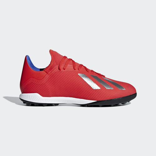 adidas - X Tango 18.3 Turf Boots Active Red / Silver Met. / Bold Blue BB9399