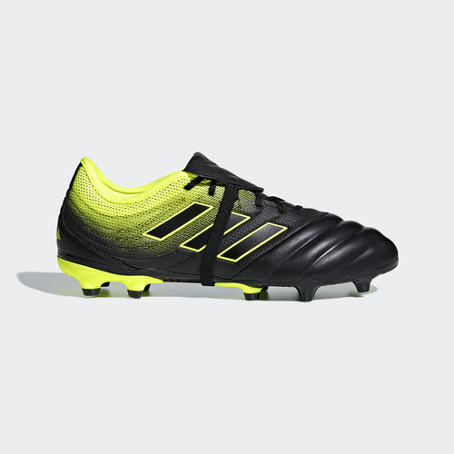 adidas - Copa Gloro 19.2 Firm Ground Boots Core Black / Core Black / Solar Yellow BB8089
