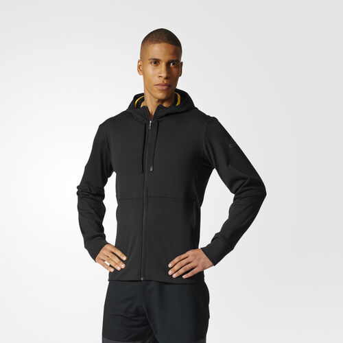 adidas - Climawarm Hooded Workout Jacket Black BR8529