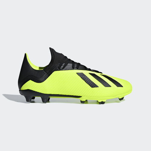 adidas - X 18.3 Firm Ground Boots Solar Yellow / Core Black / Ftwr White DB2183