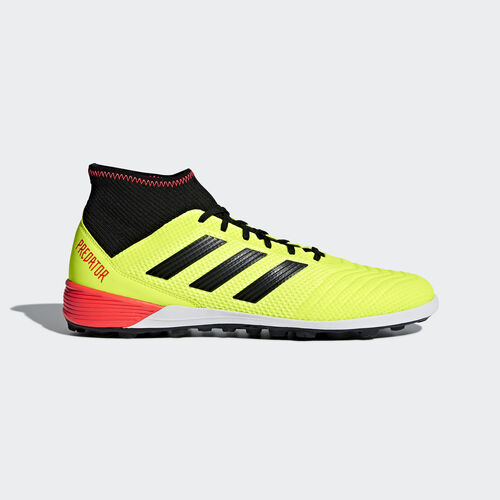 adidas - Predator Tango 18.3 Turf Boots Solar Yellow / Core Black / Solar Red DB2134