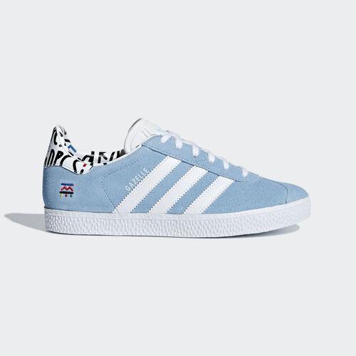 adidas - Gazelle Shoes Clear Blue / Ftwr White / Clear Blue B37213