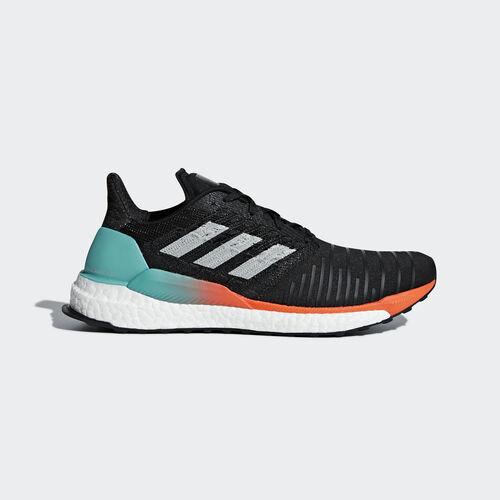 adidas - Solarboost Shoes Core Black / Grey Two / Hi-Res Aqua CQ3168