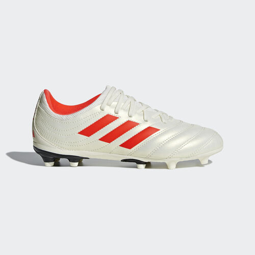 adidas - Copa 19.3 Firm Ground Boots Off White / Solar Red / Core Black D98082