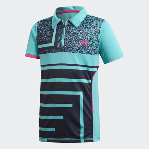 adidas - Seasonal Polo Shirt Hi-Res Aqua DM5023
