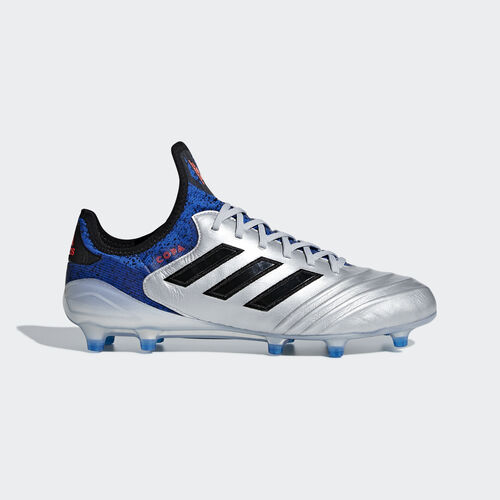 adidas - Copa 18.1 Firm Ground Boots Silver Met. / Core Black / Football Blue DB2166